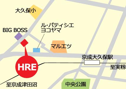 HRE案内図