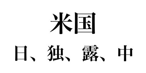 日独露中の勢力均衡と日本の国家戦略 - ZF