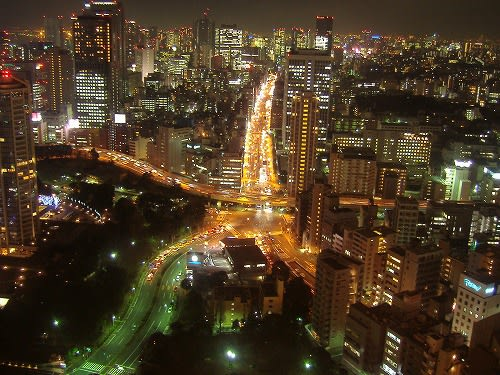 「夜 道路 東京」の画像検索結果