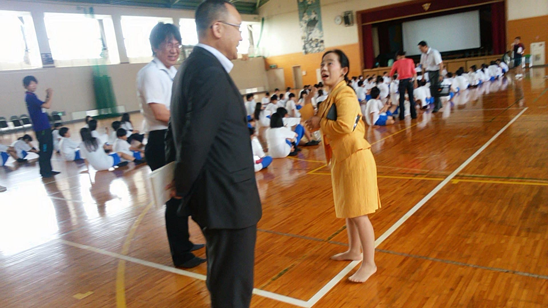午後から南郊中学校を訪問 - 「...