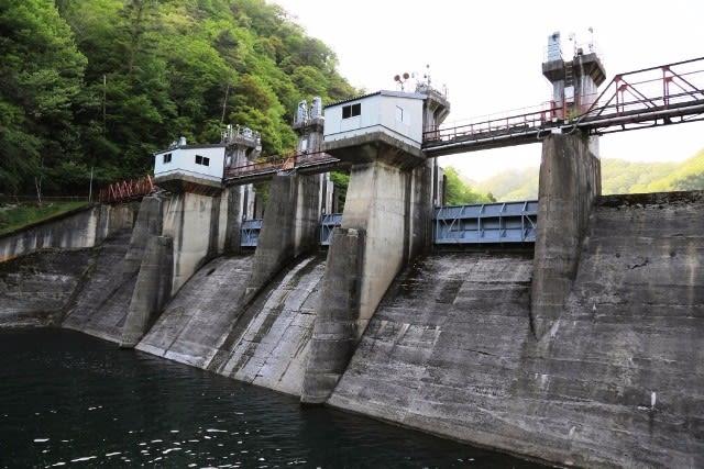 沓ヶ原ダム - ダムの訪問記