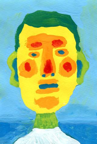 ヘタウマ似顔絵イラスト画像