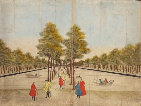 洋風画と泥絵」展(日本民藝館) - 東京でカラヴァッジョ 日記