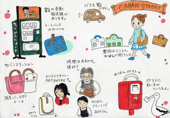58fd6ec8d09e 豊岡ツアー、続いては豊岡市の中心街 カバンストリート にお邪魔しました。 豊岡市は日本を代表する鞄の産地。 カバンストリートは  2009年、経済産業省・ ...