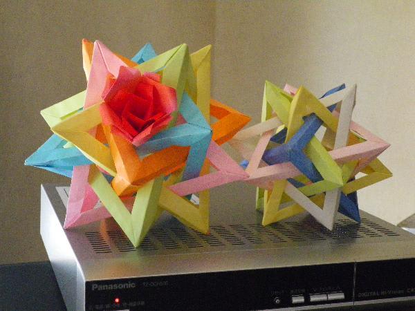 クリスマス 折り紙 折り紙くす玉の作り方 : blog.goo.ne.jp