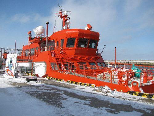 流氷砕氷船(ガリンコ号)