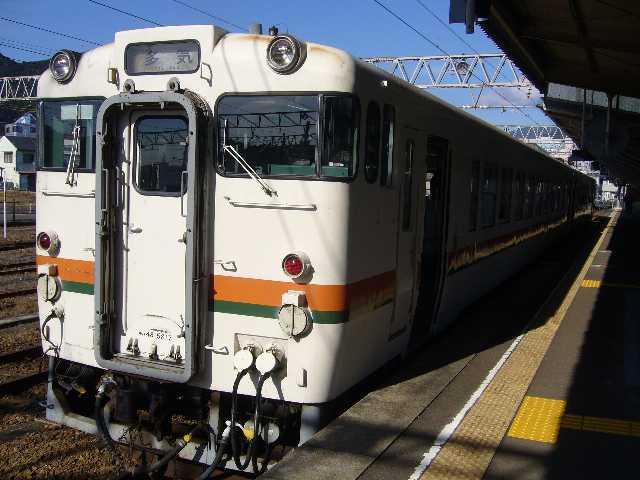 キハ48系@新宮駅