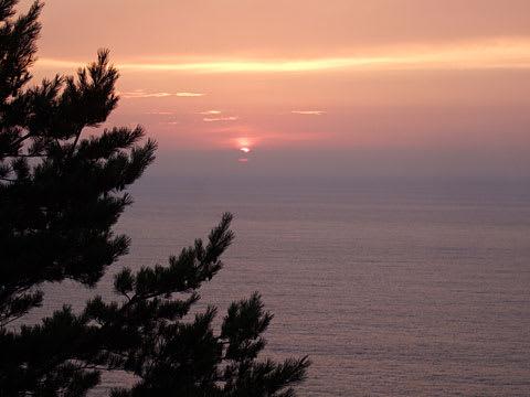 北山崎の日の出
