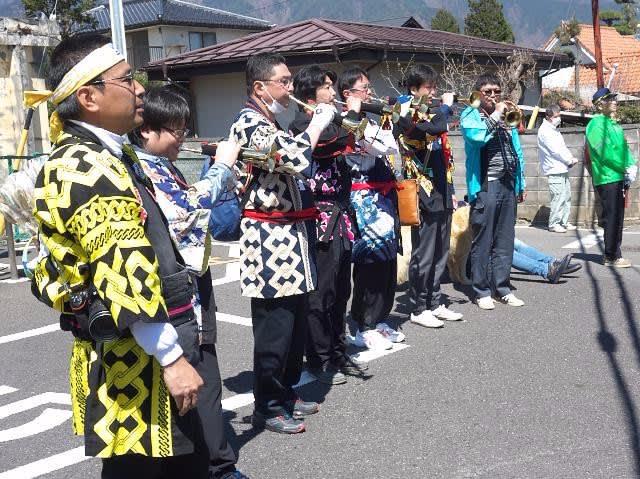 9月24日は沙田神社御柱 里曳祭(...