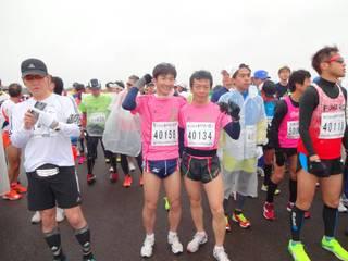 立川シティハーフマラソン優勝報...