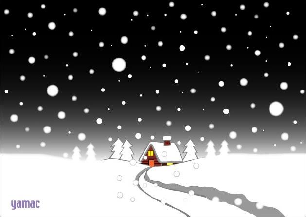 雪が降る… - かんにんブクロ