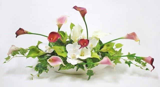 母の日アートフラワー造花アレンジメント