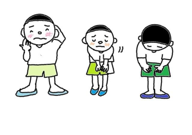場面 ことわる スーザンの 日本語教育 手描きイラスト