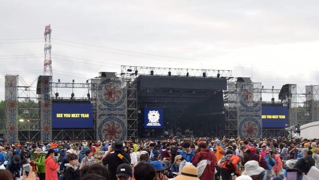 RSR点描・続き ーRising Sun Rock Festival in Ezo 2018(ライジング ...