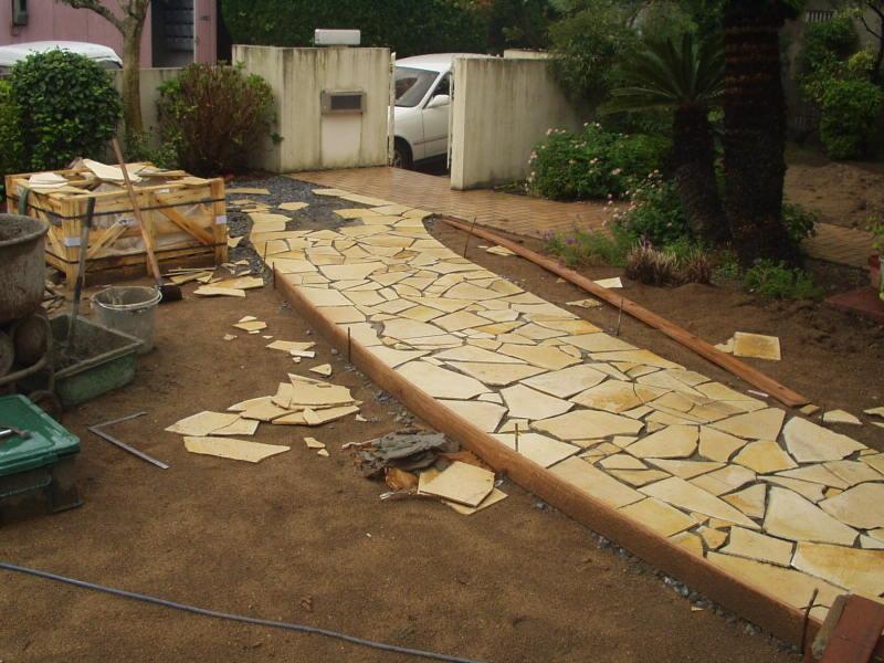 庭園改修現場3