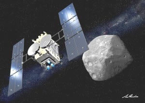 2018 06 27 はやぶさ2、小惑星「りゅうぐう」に到着 【保管記事】