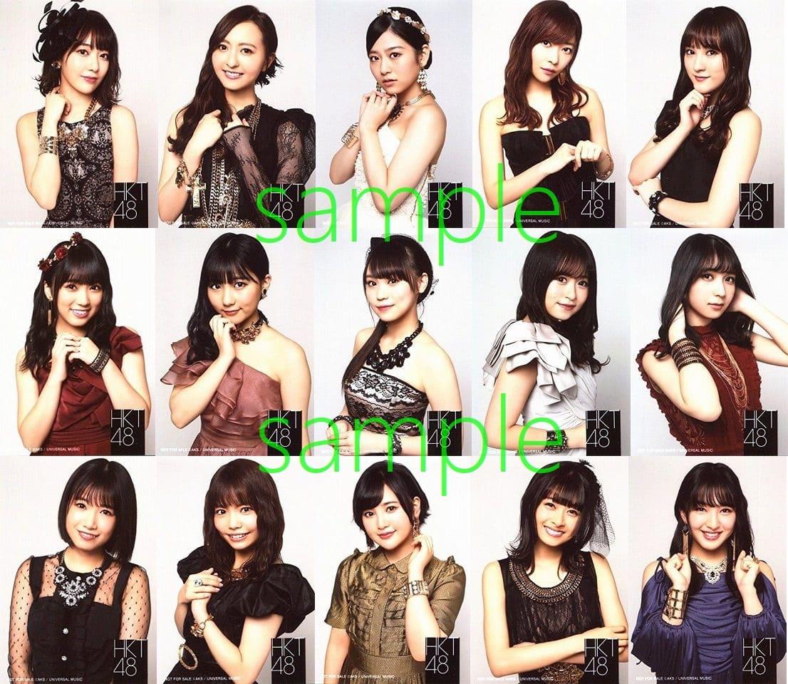 HKT48 HKT48アルバム「092」店舗特典生写真まとめ(仮)。絵柄17種類