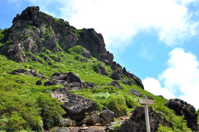 星生崎の岩場
