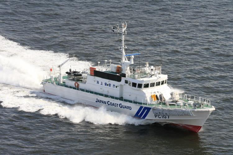 巡視艇 PC-107 「 いずなみ 」 -...