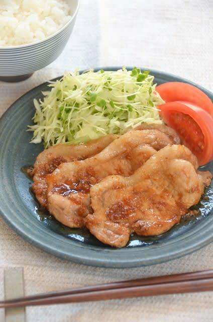 生姜 焼き 豚肉