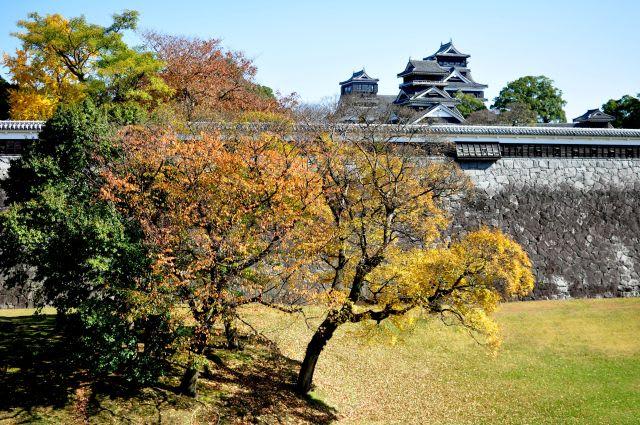 二の丸より熊本城