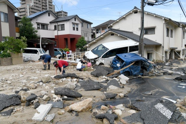 西日本集中豪雨災害、死者124人...