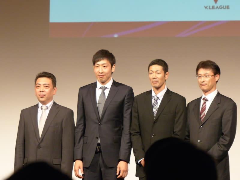 2014/15 Vリーグ開幕記者会見 1 ...
