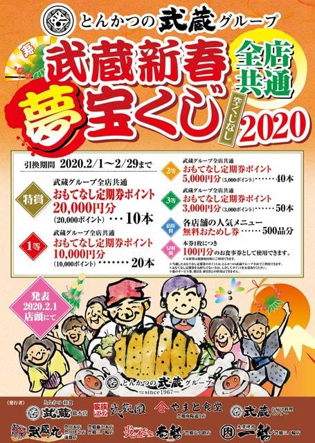 2020 新春 宝くじ