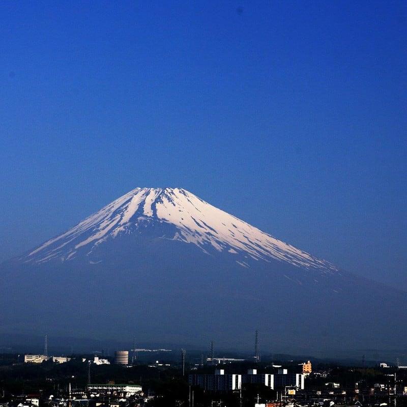 6月1日の富士山