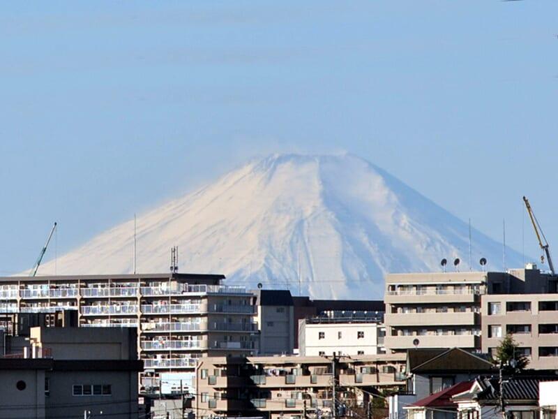 12月25日 富士山
