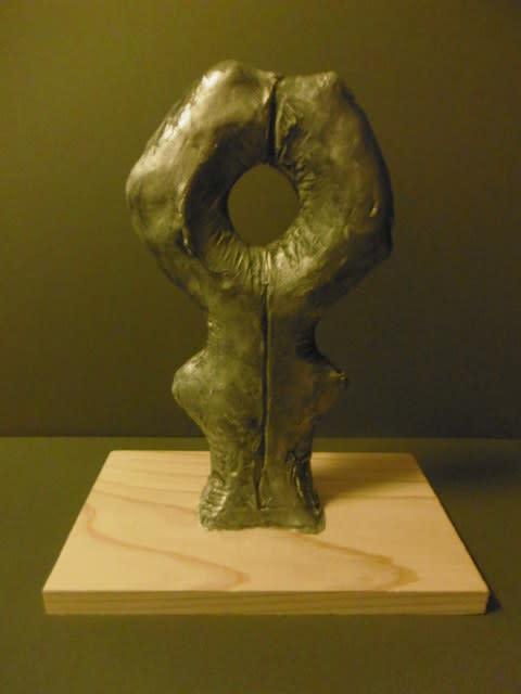 彫刻家 日本】「穴のあいた形」【抽象シリーズ】 - <彫刻家>大河原隆則 ...