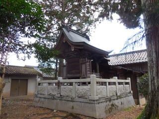 社殿(背後)