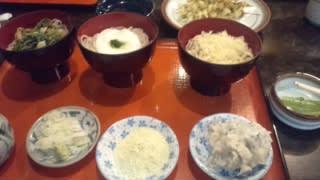 蕎麦づくし&アカシアの花の天ぷら