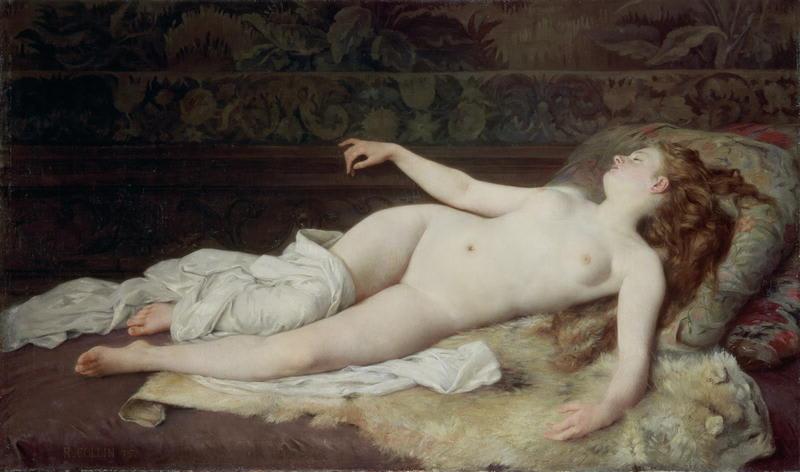 Henry lebasqur erotic paintings - 1 part 3