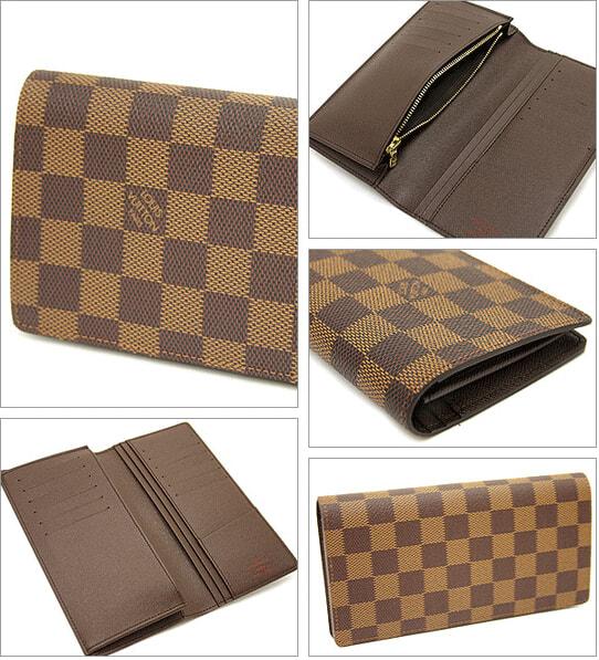 timeless design e2eb0 9b994 ルイヴィトン ブランド激安財布 二つ折り財布 N60017 ダミエ ...