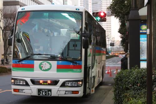 ・撮ったまま/西武観光バスの池袋~新潟線 - バスターミナルな ...