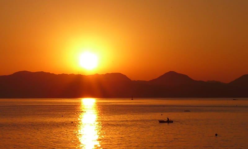 Sunsetovershimoshima