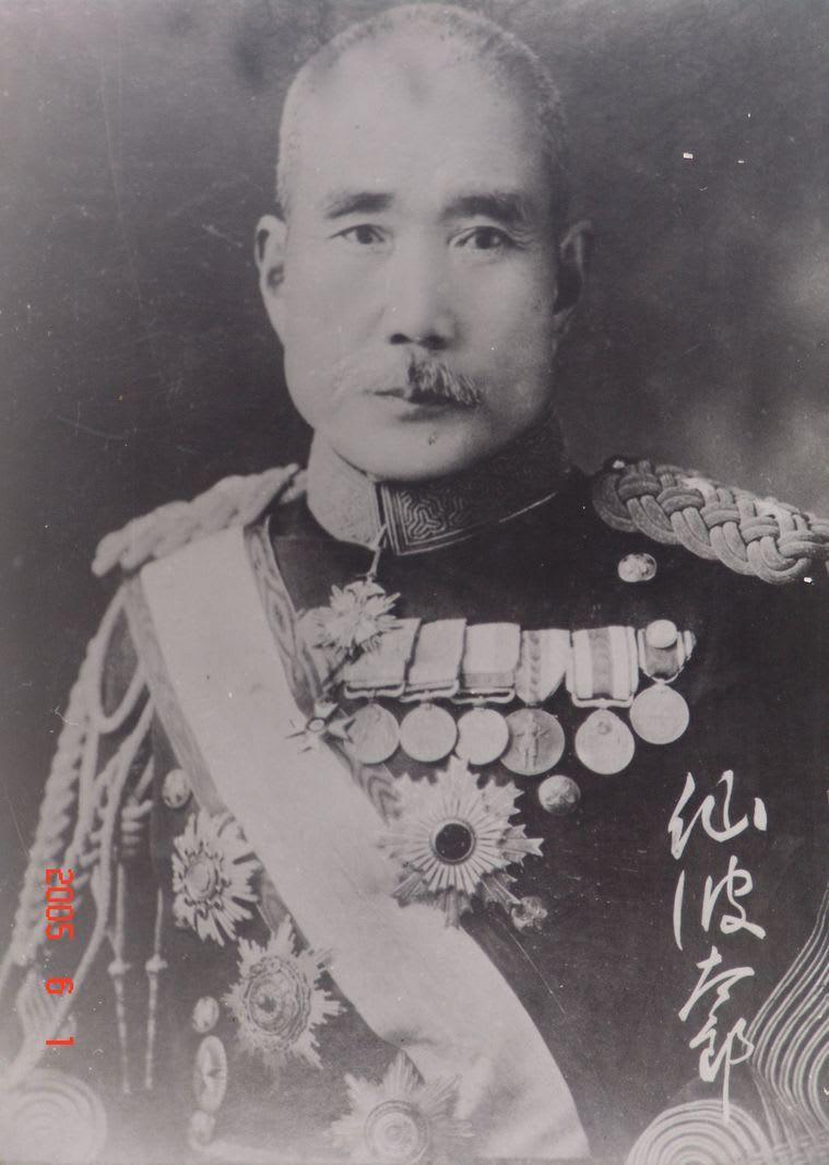 久松定謨と秋山好古・仙波太郎 -...