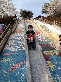 前平公園 ロングすべり台