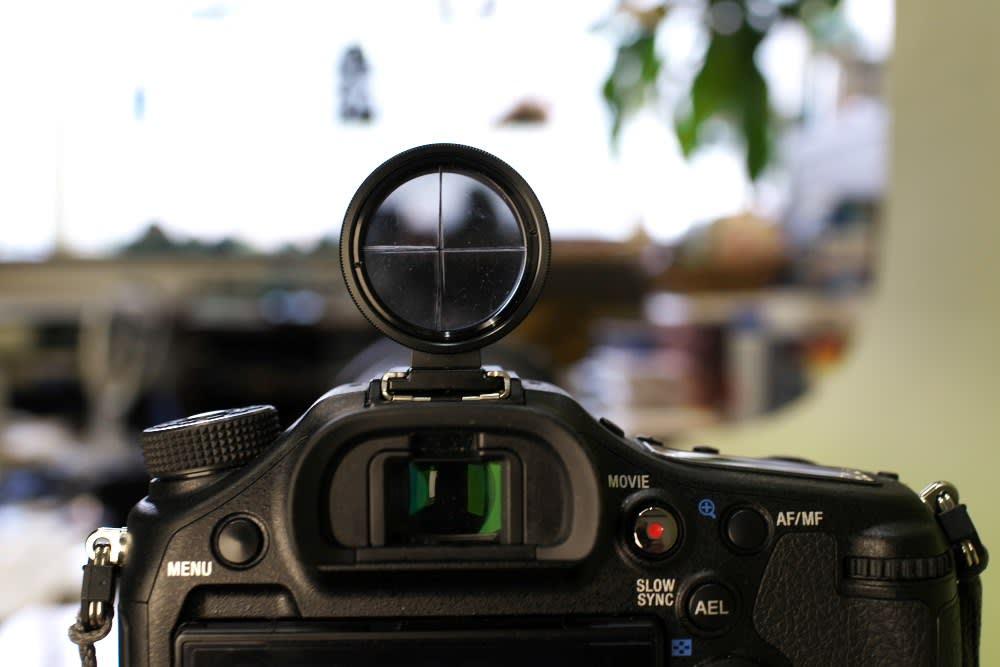 超望遠レンズ 手持ち撮影用照準器を自作 - 自然と共に田舎で生きる