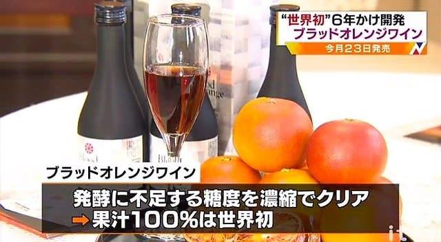 ブラッド オレンジ ワイン
