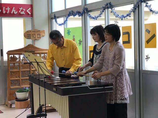 雪小ロビーコンサート「黒ダイヤ三楽坊」のご報告(12月19日)