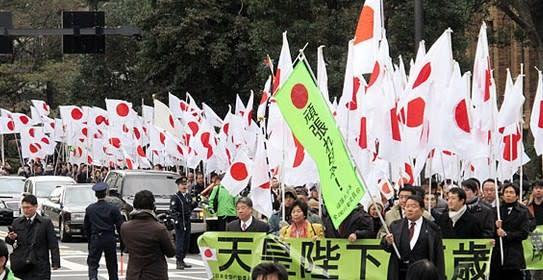 歴史的な精神文化の権威が日本をお守りになっておられる。それで、メデタク米国政府はこの疑似革命状況に騙されて、沖縄の施政権を返したのであった
