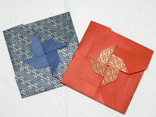 クリスマス 折り紙 折り紙 袋 : matome.naver.jp