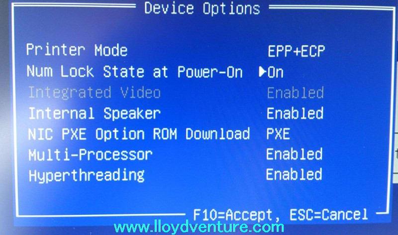 HP Compaq Pro 6300 SF の、BIOS画面の出し方 - ロイド