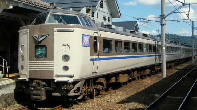 183系(JR西日本カラー)特急「文殊」