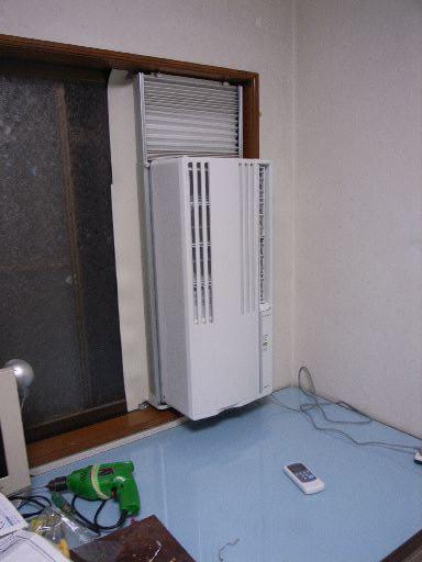 エアコン 窓 用