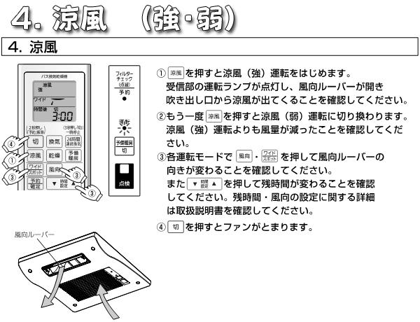 パナソニックFY-13UG5V_涼風