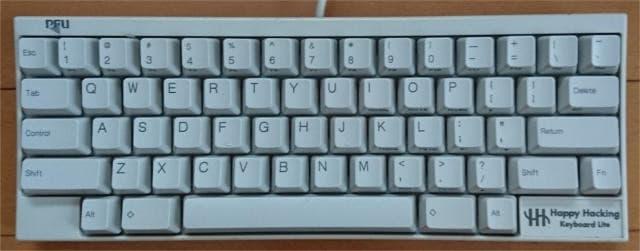 ハッピーハッキングキーボード