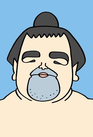 琴奨菊和弘の似顔絵
